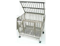 〔優寵物〕2.5尺X2尺白鐵〔摺疊式/折疊式〕不鏽鋼/不銹鋼管狗籠,寵物籠/台灣製造/