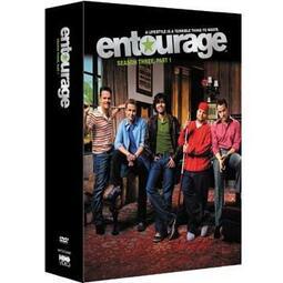Entourage 大明星小跟班 第三季(上) DVD 3片裝 台灣正版全新