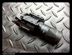【狩獵者生存專賣】X300V風格 LED戰術槍燈戰術手電-BK