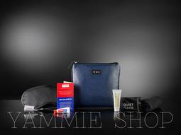 (含全套內容物)軟皮&防水 最新現貨 TUMI &達美航空 盥洗包 過夜包 旅行收納包 3C整理包 (TBH22)