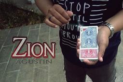 (魔術小子) Zion by Agustin 視覺化變牌 (道具+教學)