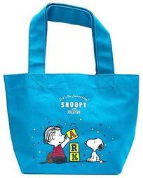 §A-mon日本雜貨屋§日本帶回來*史努比Snoopy&好朋友奈 勒斯 購物袋 托特袋BLOCK帆布手提*媽媽包 現貨