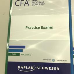 現貨數量不多 可刷卡Schweser CFA考試的第二本模擬考本 v2,. 內有2天4回模考
