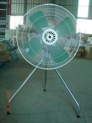 永用牌MIT台灣製造110V-380V電壓24吋工業扇-強力排風機-排風扇-抽風扇-吸排風扇/鐵葉/ 0.5HP