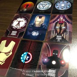 MARVEL 復仇者聯盟 終局之戰 Iron Man 鋼鐵人 反應爐 icash2.0 悠遊卡 一卡通 限量卡貼