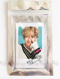 【K-Star】BTS 防彈少年團 泰亨 V 印刷簽名LOMO相片組(G) 一組20張 張張不同 小卡