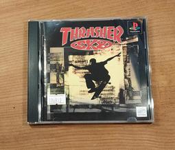 便宜賣!PS日版遊戲- THRASHER SK8 極限滑板(7-11取貨付款)