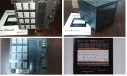 溫度記錄器 觸控式12點 萬用輸入 無紙記錄器  資料收集器