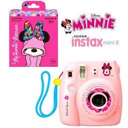 【攝界】雙12特價 富士 mini 8 粉色 迪士尼 米妮 MINNIE 拍立得 即可拍 耶誕禮物 空白底片 情人節
