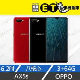 ET手機倉庫【全新 OPPO AX5s 64G】CPH1920 黑/紅 ( 4G雙卡、八核心、人臉解鎖)附發票