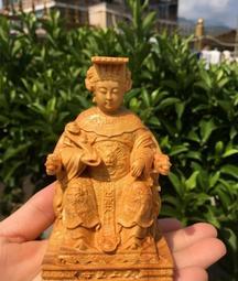 崖柏媽祖 天上聖母 千里眼順風耳 媽祖護法 神像神將木雕