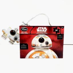 迪士尼商店 星際大戰 DISNEY STAR WARS BB-8 造型局部重點亮光32片拼圖 全新盒裝現貨 星戰迷收藏