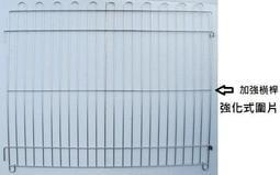 【優寵物】3尺*2.5尺強化(304#級)白鐵不鏽鋼/不銹鋼組合式圍片/圍欄/柵欄/圍籬(台灣製造)