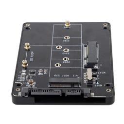 SA-011 M.2 NGFF轉SATA外接盒 MSATA轉SATA外接盒 M.2二合一外接盒 M.2 NGFF SSD