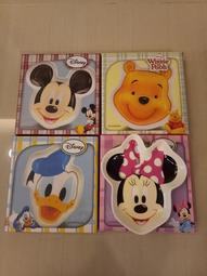 迪士尼系列【造型陶瓷盤】米奇 米妮 唐老鴨 維尼 四款一組【正版授權】