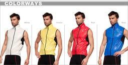 ~三折特價~台灣品牌Frontier前線國際 Vento系列 超輕薄風衣背心 紅藍二色 訂價:2480 特價:750