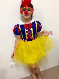 萬聖節裝扮 白雪公主 贈面具及髮箍