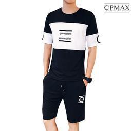 CPMAX 韓系休閒運動套裝 上衣加短褲 運動短褲 運動T 休閒套裝 休閒運動 帥氣好穿搭 男運動服 運動褲 O55