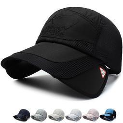 【JOY小舖】 帽子 遮陽帽 棒球帽 鴨舌帽 可延展帽檐透氣遮陽帽 加寬帽檐透氣遮陽帽 棒球帽 潮流時尚棒球帽