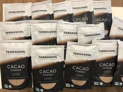 現貨「美國原裝進口」100%天然有機無糖可可粉TERRASOUL CACAO -113克/包(全新現貨)