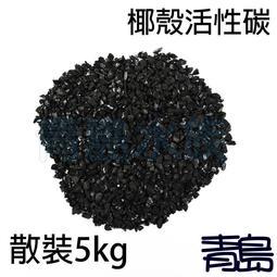 十月缺Y。。。青島水族。。。LC-YKY-5店長嚴選-長效椰殼活性碳 活性炭 過濾 淨水 吸附濾材==散裝/5kg
