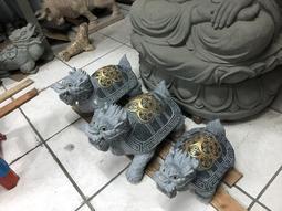 『石夫的家』石雕龍龜水池擺飾噴水龍龜