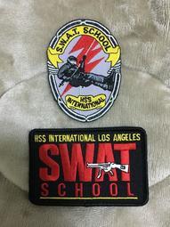 國際HSS特勤警察學院 LAPD SWAT SCHOOL 特勤警察學校 臂章 紀念章