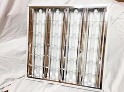 【SPARKLING專業照明】T8LED 2尺×4燈輕鋼架燈組 T-BAR燈 格柵燈(含10W*4管LED玻璃燈管)