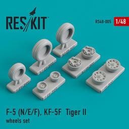 RES/KIT_1/48_F-5E F-5F RF-5E 精美樹脂輪_RS48-0005 加入專頁另享優惠!