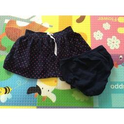 近新 baby Gap 2件式 點點小短裙 附小內褲喔!日本帶回  (一件290/2件500)
