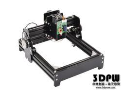 [3DPW] 新一代 可雕金屬 桌上型 雷射雕刻機 成品 10000mW 10W 鋁框架 免組裝