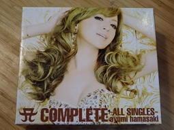 《啟元唱片》濱崎步 AYUMI HAMASAKI A單曲紀10極精選 [3CD+DVD] 有紙盒 片況良好