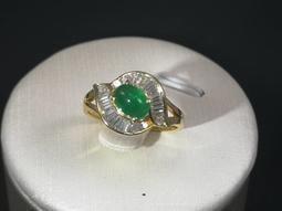 天然祖母綠戒指(1080072)