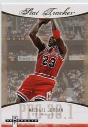 [SAMC] Michael Jordan 07-08 Fleer Hot Prospects Stat Tracker