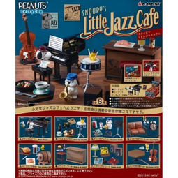 [現貨]日版 Re-Ment 盒玩 史努比 爵士咖啡館 爵士咖啡廳 鋼琴 史奴比盒玩
