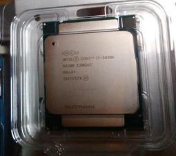 Intel Core i7-5930K 盒裝 CPU 2011 2011-3 六核心 3.5G 二手良品 16000含運