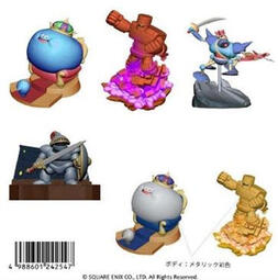 【CartoonBus】預訂取付免訂,10月 SQUARE ENIX 勇者鬥惡龍 立體怪物圖鑑 全6種
