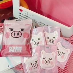 現貨+預購 造型暖暖包(三入一組) 發柴犬/粉紅豬/花貓/哈士奇 療癒系商品 保暖小物 暖宮貼
