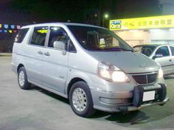 03年 Q-RV 七人座 內裝氣氛優 美車好貸 一手車