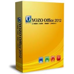 【全台8號倉】 開發票 YOZO Office 2012 1PC (隨機盒裝) 相容微軟Office