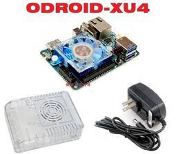 微控制器科技> 原裝ODROID-XU4 +外殼+5V3A電源器、Exynos5422 8核