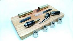 【分享工房】木工DIY LOUIS FOUNTAIN PEN KIT 路易士 鋼筆 套件 木工車床 車筆套件 製筆套件