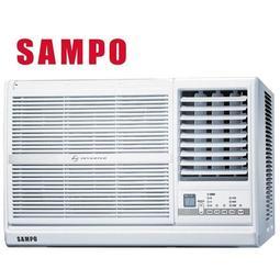 SAMPO聲寶3-4坪變頻單冷窗型冷氣(右吹)AW-PC22D 全機強化防鏽 靜音舒眠裝置