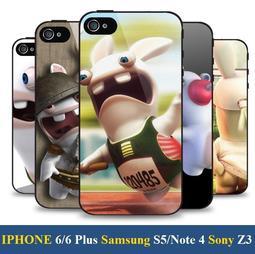《City Go》 雷曼兔 Rayman 手機殼 iPhone 5 6 Plus Note 4 Z3 626 816 Z