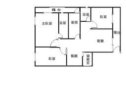 大安區公寓出租信義路上35坪 3樓(金華國中學籍)
