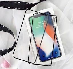 iPhone Xs Max iPhoneXR iPX 滿版保護膜 全屏覆蓋鋼化膜 9H鋼化玻璃膜 防刮 螢幕鋼膜 前膜