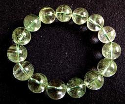 天然水晶滿天星千層綠幽靈手鍊手鏈手珠手串佛珠多層聚寶盆大珠子14mm /62.6g超透晶體珠寶玉石寶石首飾飾品