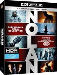 〔松鼠藍光小屋〕[現貨]克里斯多福諾蘭合輯4K UHD+BD 義版21碟套裝 中文字幕 黑暗騎士 星際效應 全面啟動