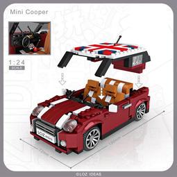 <蟹老闆的家> LOZ 新款 MINI積木 仿真 車子 模型 鑽石積木 迷你小顆粒微型樂高創意拼插益智兒童 LEGO