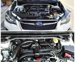 【童夢國際】D.R DOME RACING NEW IMPREZA 引擎室拉桿 高強度鋁合金 中空補強